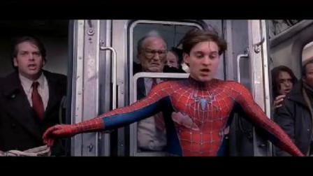 蜘蛛侠2:战衣都破了,可见彼得真的是努力了