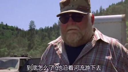 悍将奇兵:男子为了逃脱选择将车开进河里,为什么要这么对他?