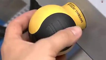 牛人发明:广西大哥设计新颖的电动切割机,使用功能让人眼前一亮,太满意这操作了!