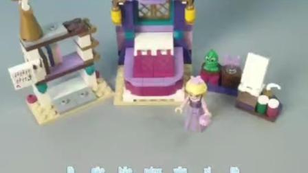乐高好朋友系列41156长发公主的城堡卧室