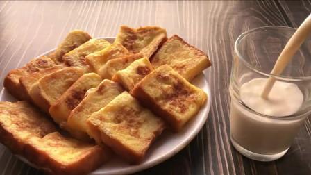 韩国小吃早餐,简单美味的鸡蛋土司