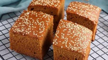 2分钟教你在家做红糖枣糕,松软可口,超详细教程,看一遍就会