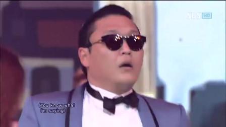 历史上第一个点击量超过10亿次的MV是由PSY鸟叔带来的《江南style》,出场就引全场尖叫