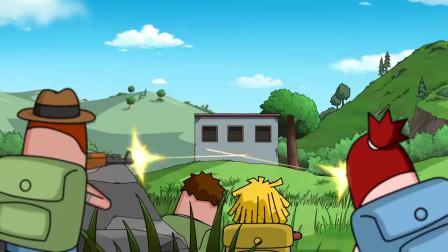 搞笑吃鸡动画菜鸡自称是霸哥的老爸霸哥和他对骂结果真是亲爹