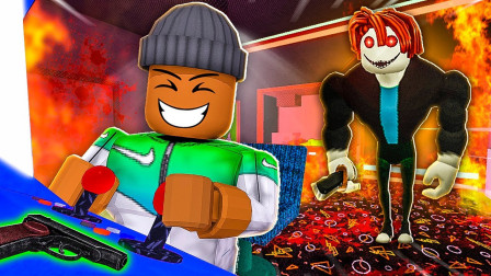 Roblox虚拟世界小飞象解说 第二季 Roblox逃离培根头,破解游戏厅密室!