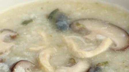 电饭煲煮鸡丝粥,超级省事,软糯粘稠,暖心暖胃~