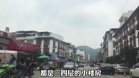 实拍南宁横县六景镇,住的都是三四层的楼房,不来不知道,广西的乡镇原来发展得这么好