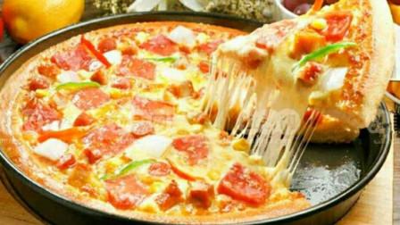不用买披萨底,不用烤箱,一样可以做披萨,只要你有一个平底锅