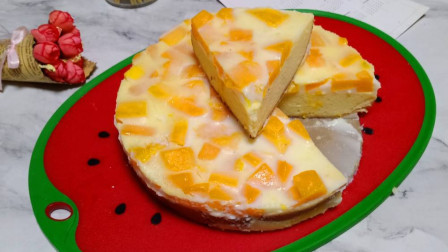 最适合家庭做的水果慕斯蛋糕,没有烤箱也可以做,入口细腻香浓