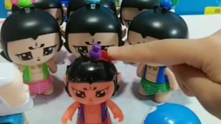 葫芦娃什么时候能出来呢?哆啦A梦帮助葫芦娃长大,小七娃怎么这么小?