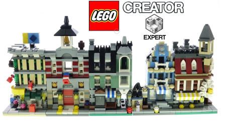 乐高创意10230迷你街景Mini modulars积木