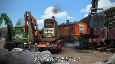 托马斯和他的朋友们:托马斯冒出烟和火花,它看起来不太好