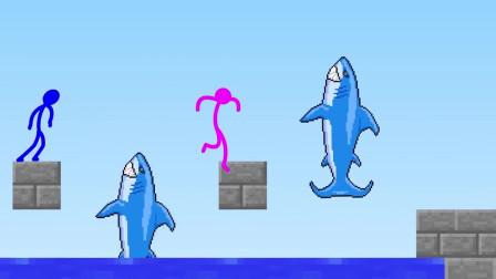 我的世界动画-火柴人学院-障碍跑挑战-Sticktoon