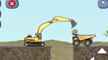工程车工作视频工程卡车游戏8