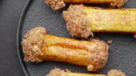 如何制作美味的芝士肉松吐司卷