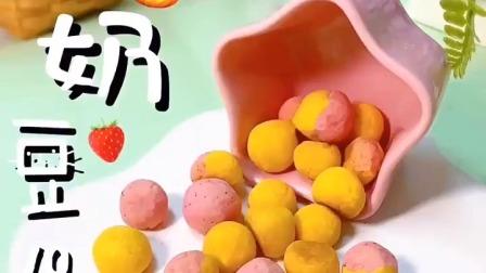 思思辅食花园 果蔬小奶豆酥脆好吃,芝麻薄脆饼补钙一级棒