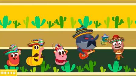 爆笑虫子BINGGO之歌!爆笑虫子英语启蒙儿歌游戏