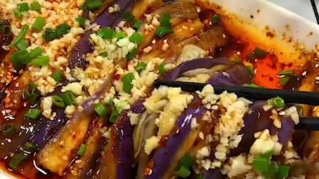 茄子这样做,不炒不炸不用炖,酸辣入味超级下饭
