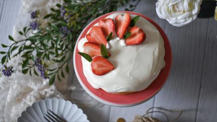 我的日常料理 第二季 春季教你制作美貌又美味的草莓酸奶戚风蛋糕