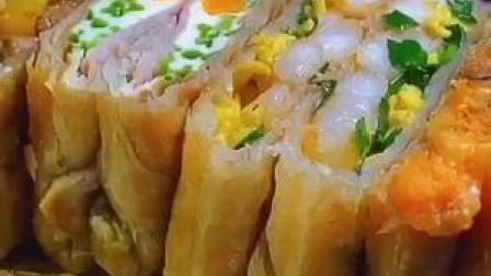 早餐吃惯了三明治的 可以试试手抓饼做的多层次馅饼 #美食推荐官 #美食趣胃计划