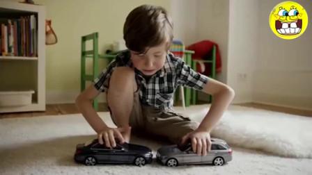 奔驰汽车的创意广告, 网友 服!