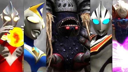 【逸尘解说】手游ウルトラ怪獣 バトルブリーダーズ 众怪兽、奥特曼再战邪神加坦杰厄