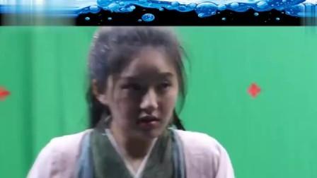 赵露思与郑业成水上拍摄,与水中拍摄般若两人?太可爱了!