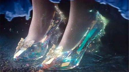 国外牛人八年做出一双水晶鞋,全程用嘴吹来定型,妹子看到后都不敢穿