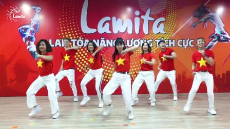VIỆT NAM ƠI! ĐÁNH BAY - zumba舞蹈视频教学 减肥健身舞