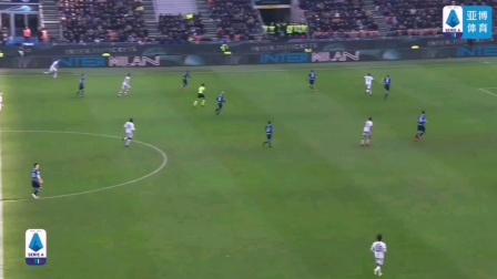 国际米兰1-1卡利亚里 什克里尼亚因伤离场,戈丁披挂上阵