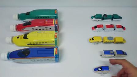 越看越好玩,如何成功拼装炫酷玩具火车?益智早教卡通玩具工程车