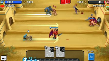 胖虎游戏:城堡粉碎战讲究的是时机,就是要见招拆招!