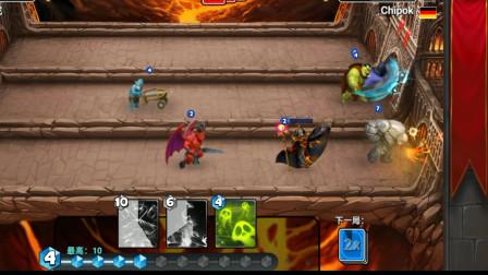 胖虎游戏:城堡粉碎战,三个回合就把敌人打自闭,直接放弃抵抗!