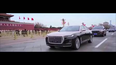 """红旗H9实车终于现身亮相!搭载 V6动力与迈巴赫""""同款""""车漆"""