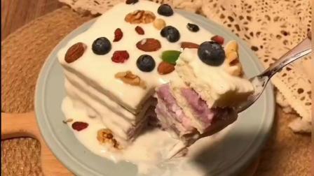 如何在家制作芋泥吐司蛋糕