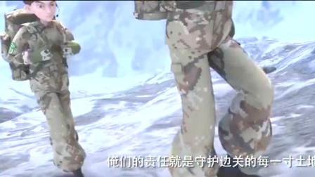 士兵顺溜兵王争锋:当兵就又守卫边疆的责任。
