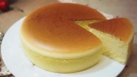 跟我一起学烘焙-轻乳酪蛋糕的做法制作教程,简单易学,动手做吧,绵软顺滑,入口即化,吃一口仿佛飘在云朵