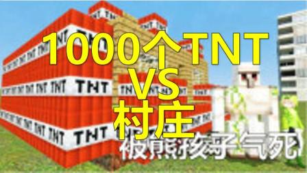 【屌德斯解说】1000个TNTVS村庄!我的世界小熙魔哒少云籽岷小飞象小橙子小格鲤鱼Ace