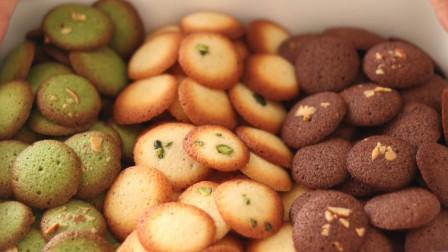 宝宝辅食蛋黄小饼干的做法,只需3种材料,没有添加剂吃着放心