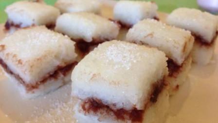 甜甜糯糯的红豆糯米糕,做法简单,香甜软糯,好吃又营养