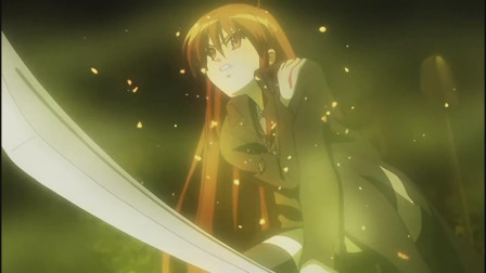 灼眼的夏娜:爱染自的剑一接触到夏娜,夏娜瞬间受伤,太强了吧