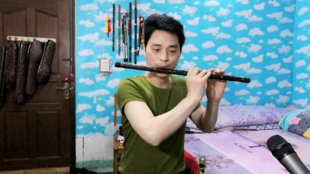 笛子吹奏《花开的时候你就来看我》