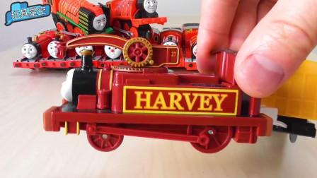 呜呜呜~~托马斯小火车和朋友们来了,pick这些小火车来火车小剧场