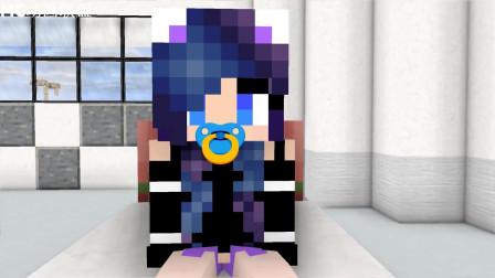 我的世界动画-怪物学院-银河系女孩-ChickenCraft