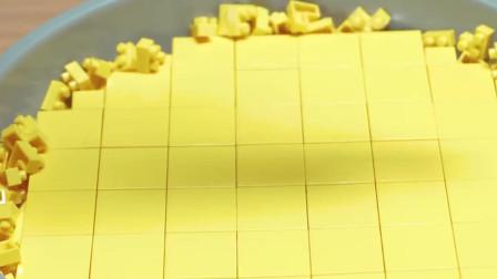 牛人用乐高制作华夫饼干和咖啡!