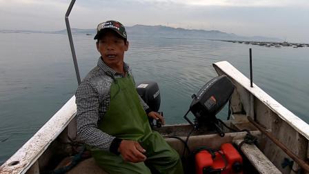 自制渔具抓到值钱好货,连忙拿到市场售卖,阿雄在家就等着数钱了