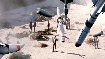 科幻片:男主觉醒超能力,数百枚导弹饱和攻击,都能轻松控制住!