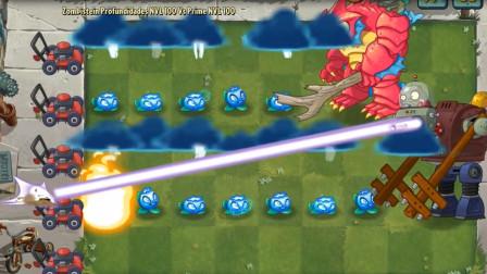 植物大战僵尸:闪电云在僵尸头顶,这下遭殃了!
