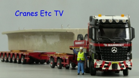 IMC Mammoet Arocs MPX by Cranes Etc TV
