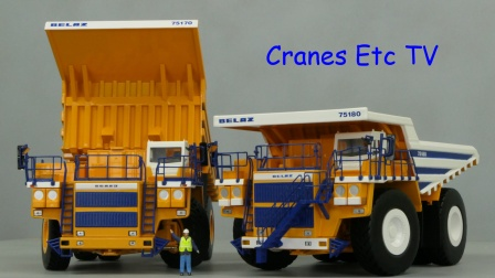Belaz Dump Trucks by Cranes Etc TV